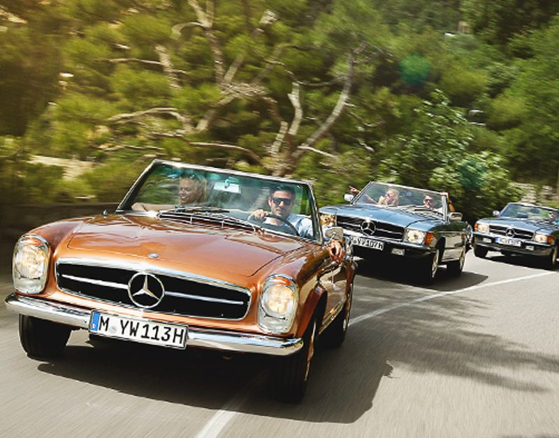 Mercedes benz classic will now rent you an sl for your for Mercedes benz classics for sale