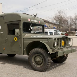Are You Brave Enough To Drive This Classic Off-Road Ambulance?