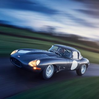 This Is What A Brand New E-Type Lightweight Looks Like On The Road