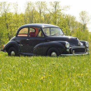 This Hopped-Up Morris Minor Was Restored By Father And Daughter