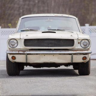 This Shelby GT350 Race Car Is A 40-Year Barn Find Secret