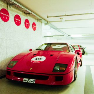 This F40 Is Just Hanging Out In A Garage In Ingolstadt
