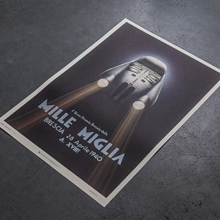 Our Friends At Unique And Limited Just Released The Ultimate Mille Miglia Poster
