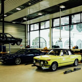 Inside BMW Classic's Immaculate Restoration Department