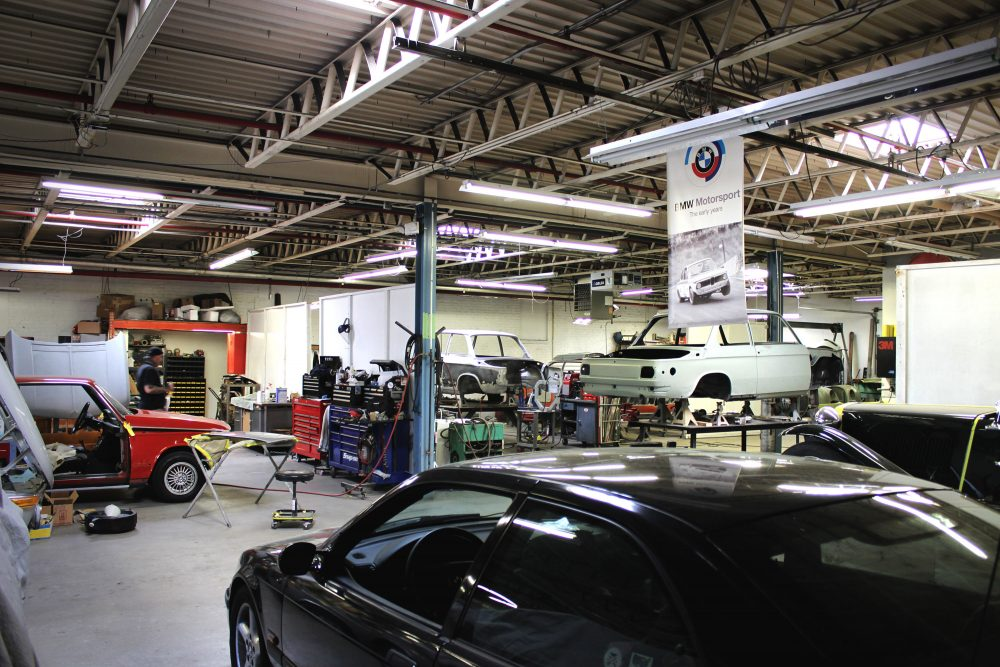 This Is A Sports Car Garage That Tackles Everything With Passion - Sports cars garage