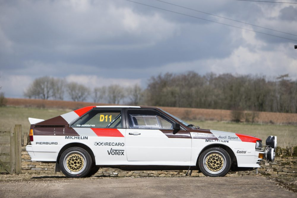 This Factory-Built Audi Quattro Rally Car Is Also An Insane Road Car ...