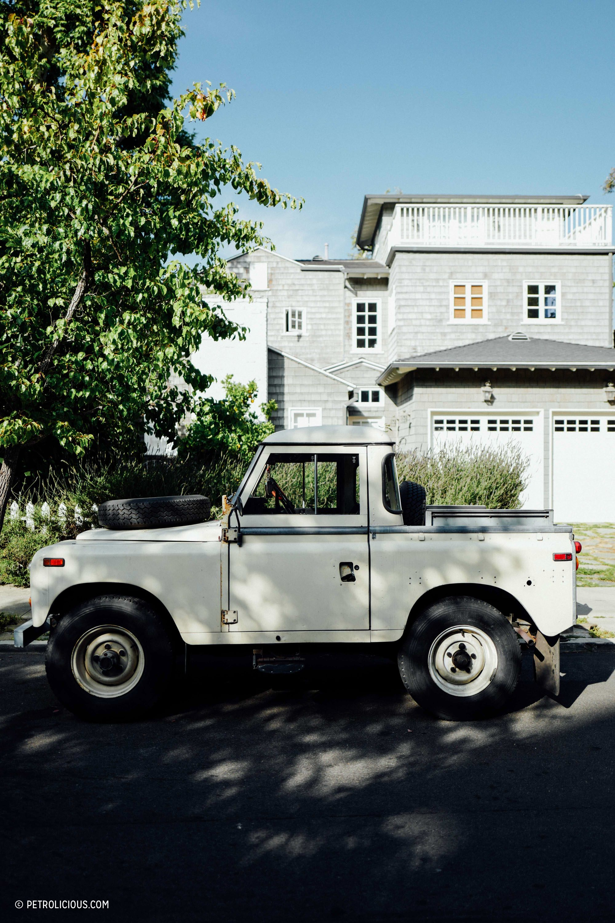 Land Rover Santa Monica >> Street Find: This Land Rover Pickup Is Aging Beautifully ...