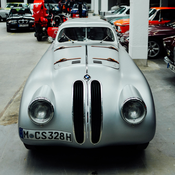 The BMW 328 Mille Miglia Touring Coupé Is A Work Of Art