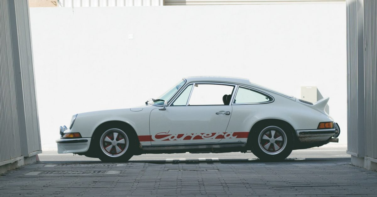My First Air-Cooled Experience Was In This Porsche 911 2.7 RS
