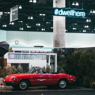We Sent This Alfa Romeo Duetto to LA's Dwell On Design Event As A Live Photobooth