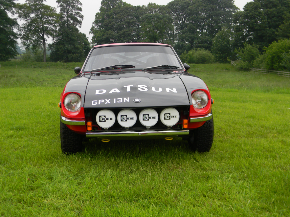 Is This Works Replica Datsun Z Rally Car Your Gravel-Slinging ...