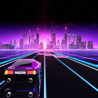 Neon Drive Is A Far Out '80s Driving Arcade Game That We Can Get Behind