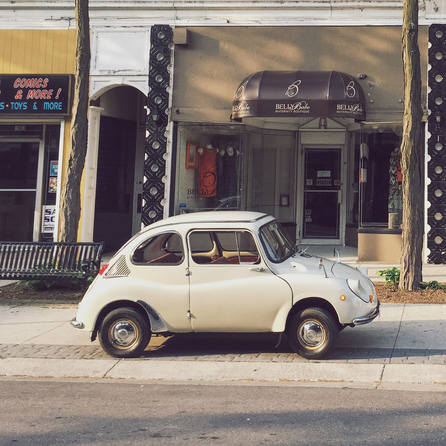 The Subaru 360 Is A Toy Car Big Enough For A License Plate