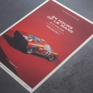 Unique & Limited's Tribute To The Ford GT40 Is In The Petrolicious Shop