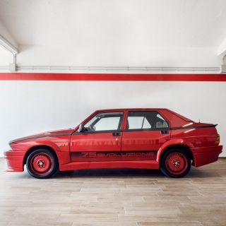This Forgotten Alfa Romeo Homologation Sedan Was Sharpened For Competition