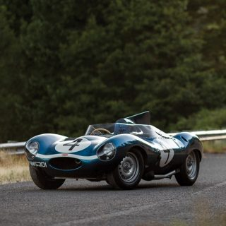 This 24 Hours Of Le Mans-Winning Jaguar D-Type Is In Need Of A New Home