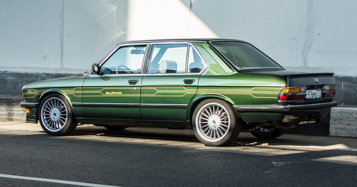 Is This Alpina Inspired Bmw E28 The Ideal Way To Revive A