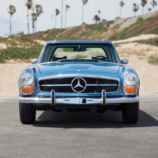Here's What A Perfectly-Preserved 'Pagoda'-Roof Mercedes-Benz Looks Like