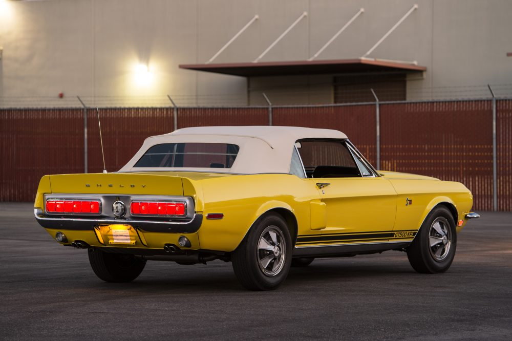 A 4-Speed Shelby GT500KR Convertible Is A Very Rare Thing • Petrolicious
