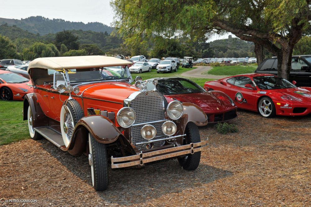 A Monterey Parking Lot Is An Actual Concours Anywhere Else ...