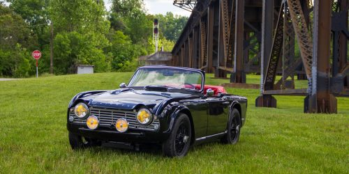 This Triumph Tr4 Survived A Legendary Road Trip Petrolicious
