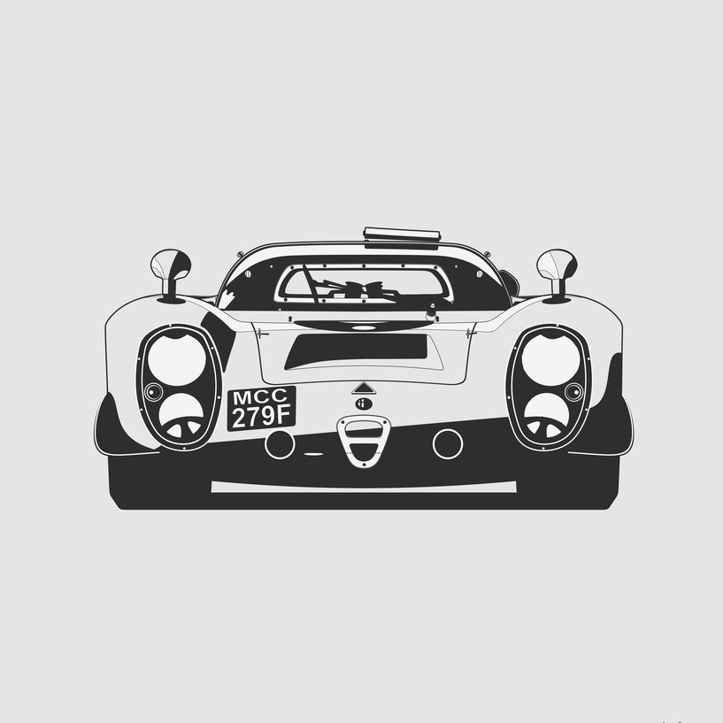 Marc Carreras' Minimalist Art Prints Are Now In The Petrolicious Shop