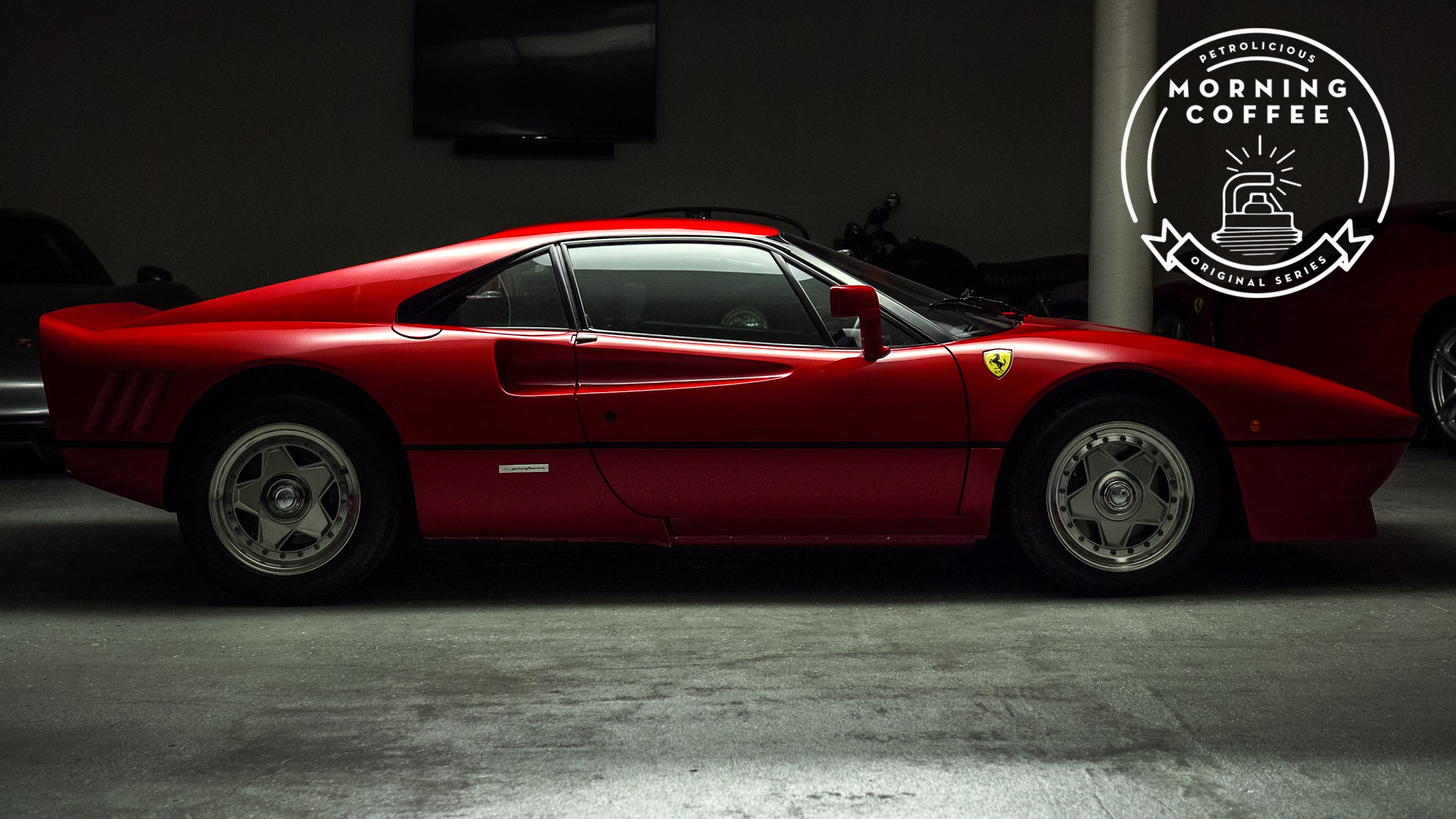 This Ferrari 288 GTO Will Replace Your Morning Coffee