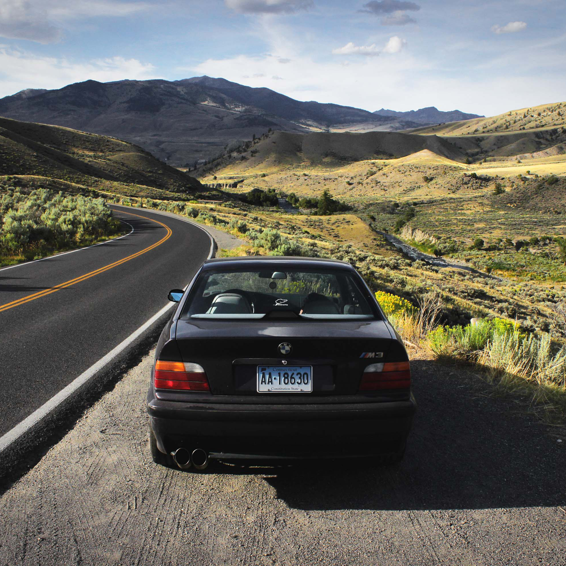 I Drove An E36 M3 To Monterey In Celebration of 100 Years of BMW Cars