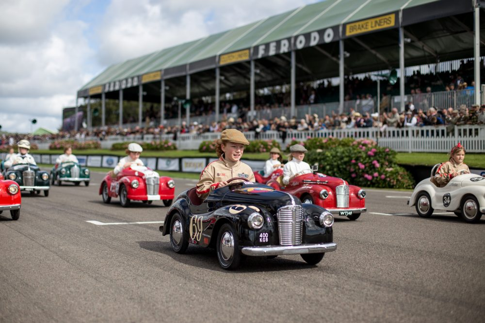 the settrington cup is where the kids get to race at goodwood petrolicious