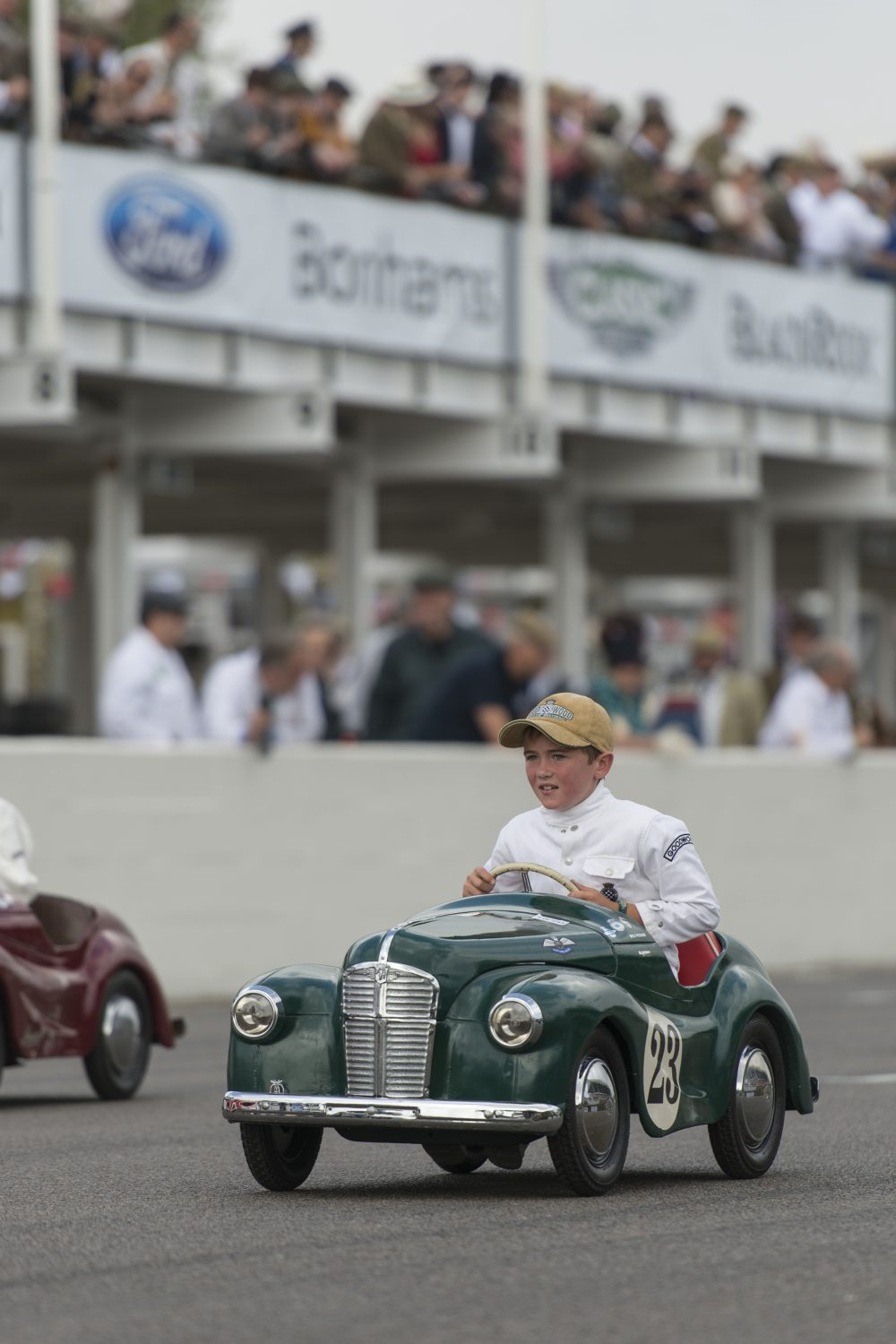 the settrington cup is where the kids get to race at goodwood