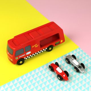 These Heirloom-Quality Wooden Motoring Toys Have Arrived In The Petrolicious Shop