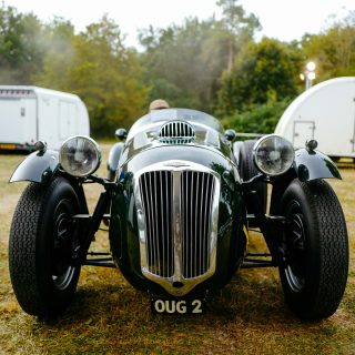 Rallying A Frazer Nash Le Mans Replica Into Chantilly Is A Special Experience