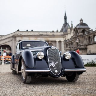 This Stunning Alfa Romeo 8C Just Won Best In Show At Chantilly