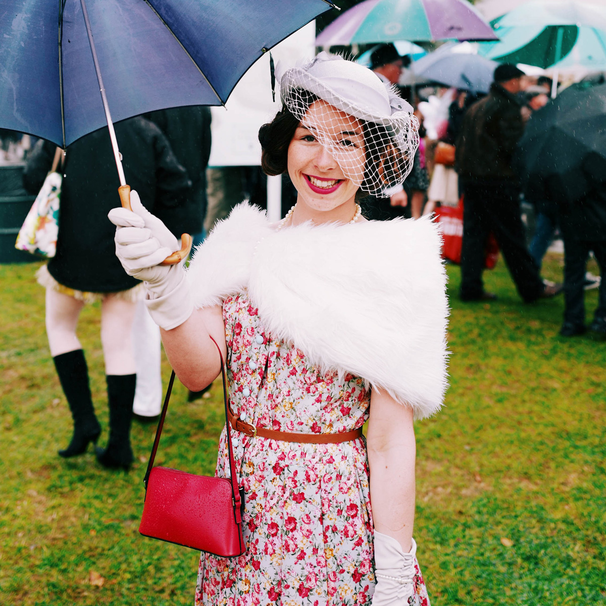 For The Birds: Goodwood Revival's Costume Carnival Delivers