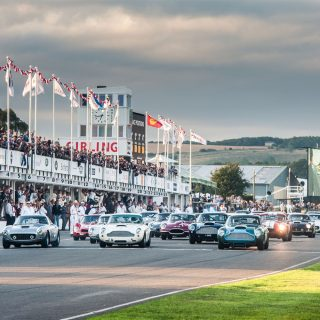 On Track Action Is Where The Goodwood Revival Shines