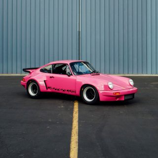 This Pink 911RSR Is A Fully Custom Street Legal Factory Race Car