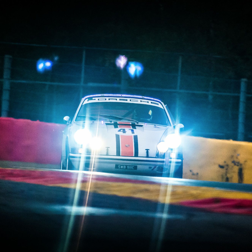 Following A Pair Of Classic 911 Racers Is The Perfect Excuse For A Spa Getaway