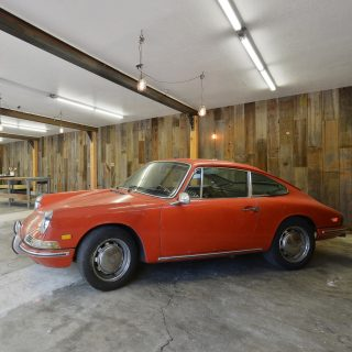 This Ridiculously Perfect Vintage Racing Garage Thankfully Also Includes A House