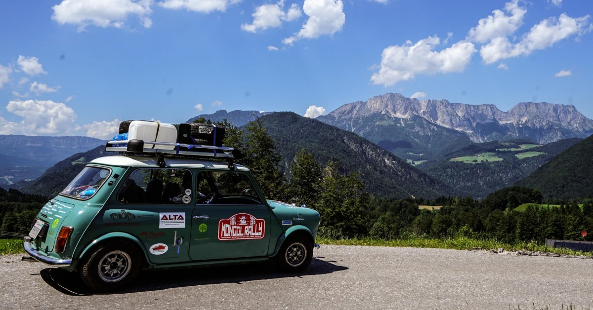 The Mongol Rally In A Mini Is Actually Not As Easy As It