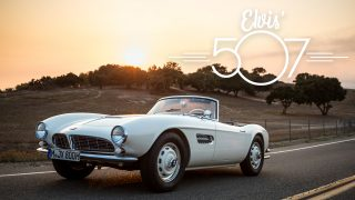 This BMW 507 Has Been Reborn In The Memory Of Elvis Presley