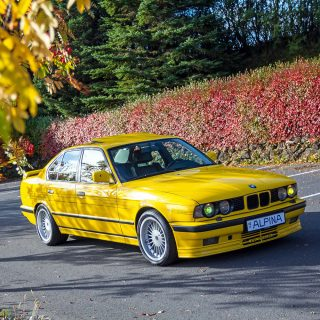 Here's A 1989 BMW 5 Series Tuned By Alpina To Nearly Top 200 MPH