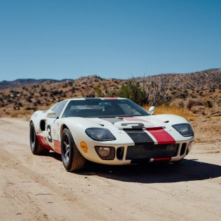 This GT40 Replica Was Built To Tear The California Desert A New One