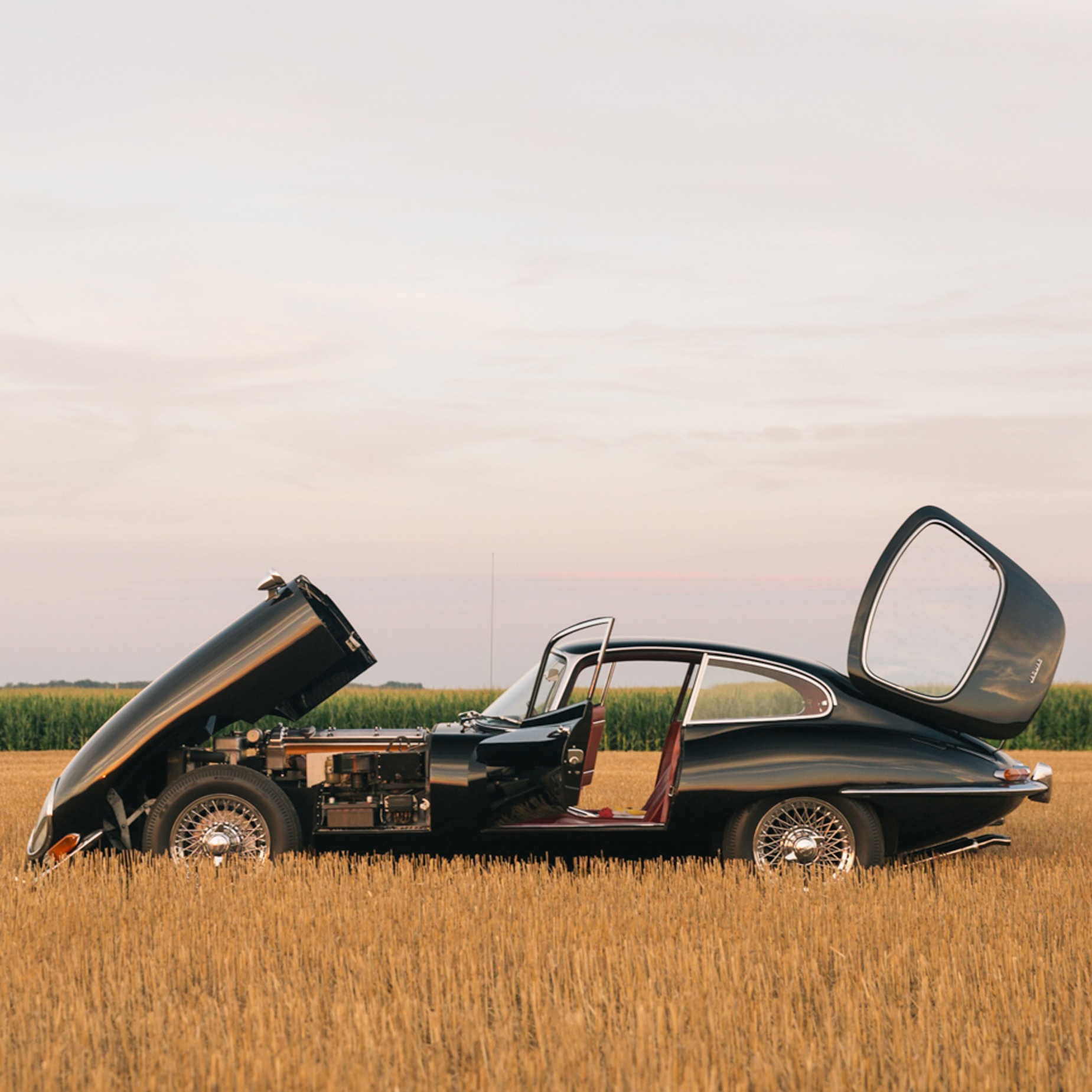 This Is The Story Of My Father's Hunt For Just The Right E-Type Jaguar