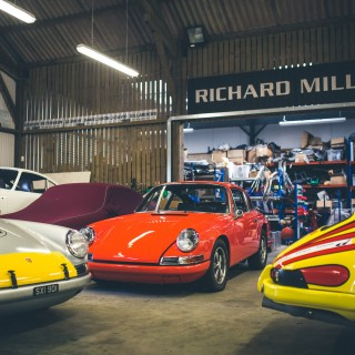 A Visit To Historika 911, The UK's Premier Vintage Porsche Race Shop