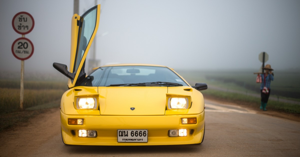 The Agony And Ecstasy Of Restoring A Lamborghini Diablo In Thailand U2022  Petrolicious