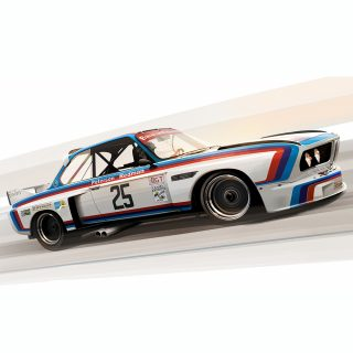 Frederic Dams Illustrates Historic Racing Moments In Glorious Fashion