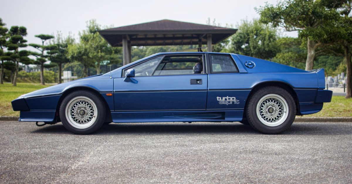 1981 Lotus Esprit Turbo: Get One While You Can Still Afford It