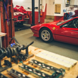 GALLERY: Inside Bell Classics, Where Ferraris Come Back To Life