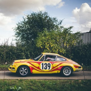 This Ex-Works 911ST TDF Has Been Lovingly Restored By Historika 911