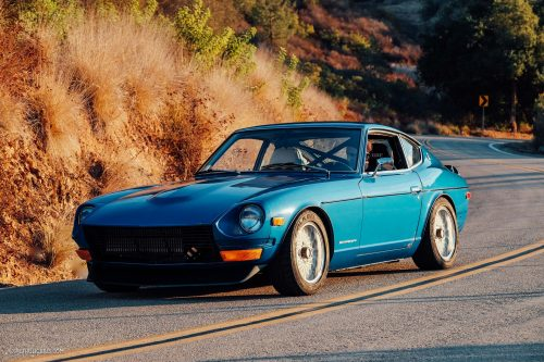 this datsun 240z has been tuned with tasteful attitude. Black Bedroom Furniture Sets. Home Design Ideas
